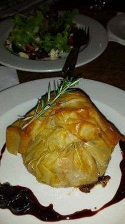 Napier, Южная Африка: Pulled pork in Phyllo