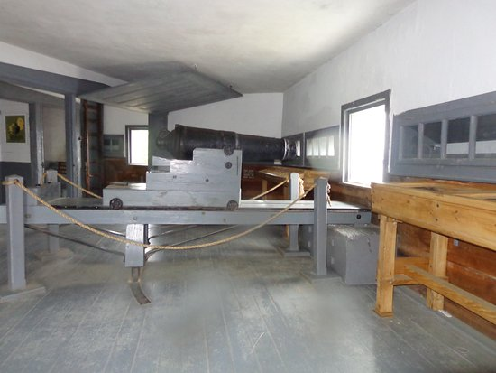 Kittery, ME: Inside the Fort
