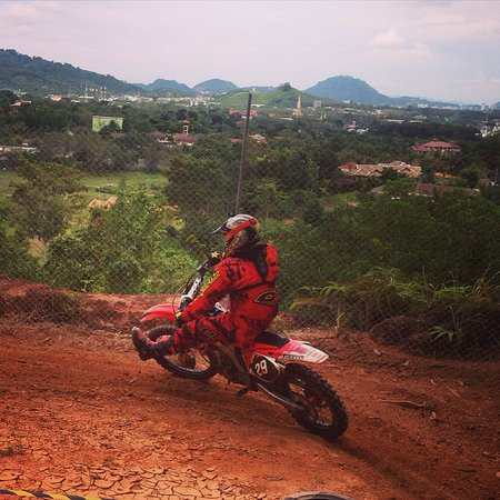 Chalong, Thaïlande : MX training Thailand