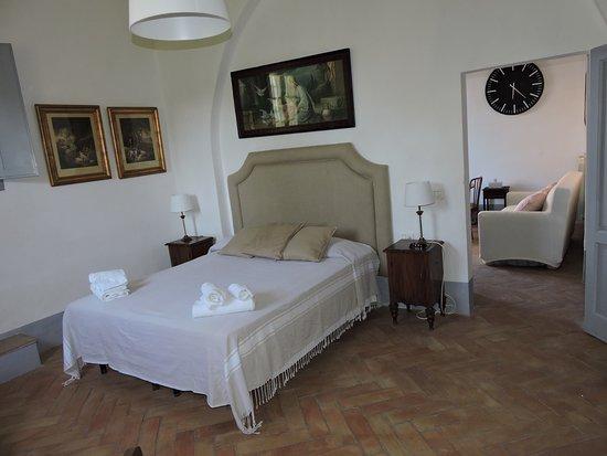 Castelfiorentino, Italia: Master bedroom