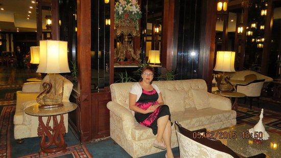 Chiang Mai Orchid Hotel: לובי
