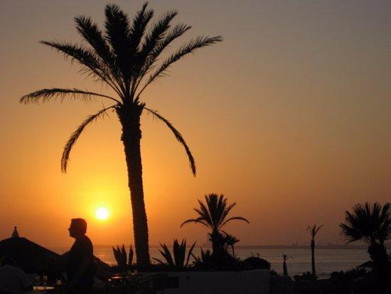 Riad Azzar: sunset
