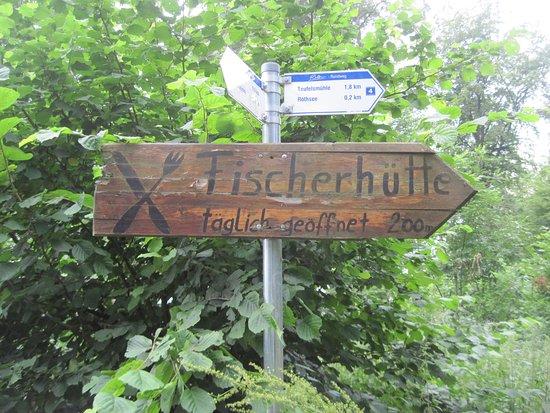 Bischofsheim an der Rhön, Deutschland: Wegweiser