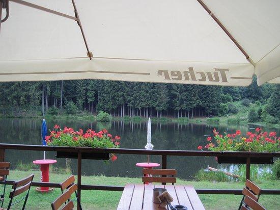 Bischofsheim an der Rhön, Deutschland: schöne Terrasse
