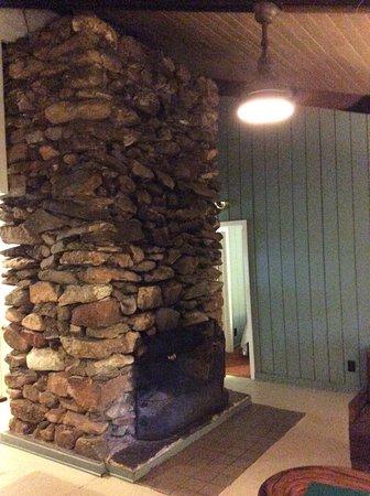 Dawsonville, GA: Cabin 14  - fireplace