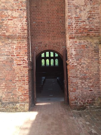 Historic Jamestowne: Entrance to the church