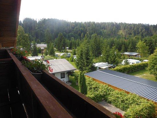 Eberndorf, Österreich: panorama dal balcone