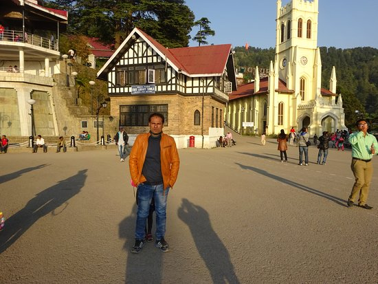 Shimla, India: Heritage palace