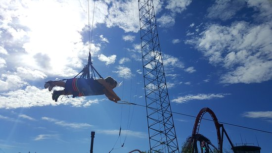 Six Flags Great America: $20 gets you on this ride