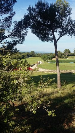 Madame Vacances Residence Provence Country Club: Vue sur le golf
