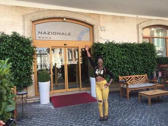 Hotel Nazionale: Wonderful hotel, staff was friendly and helpful. My room was amazing,felt like I was a princess.