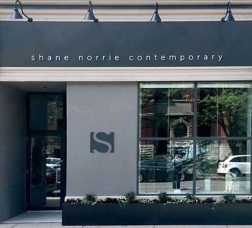 Shane Norrie Contemporary storefront