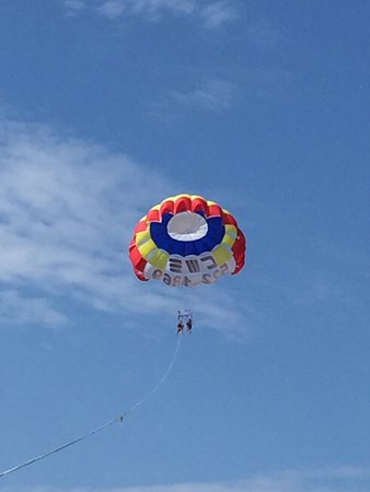 Wildwood Crest, Nueva Jersey: Great day to get airborne