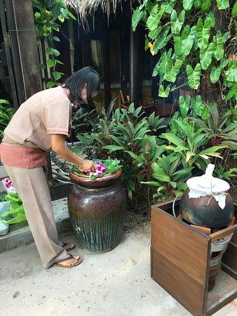 Buri Rasa Village Samui: Preparing the Spa