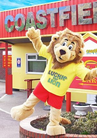 Ingoldmells, UK: Luckie the Lion is here to make sure you have a fantastic holiday!