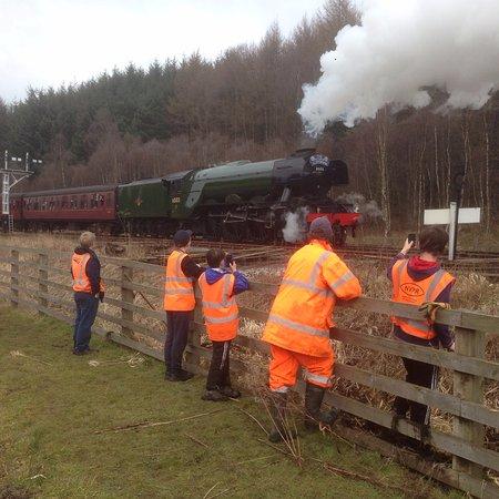 Pickering, UK: Flying Scotsman visit