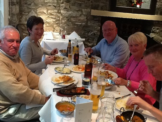 Innerleithen, UK: Sit in Meal