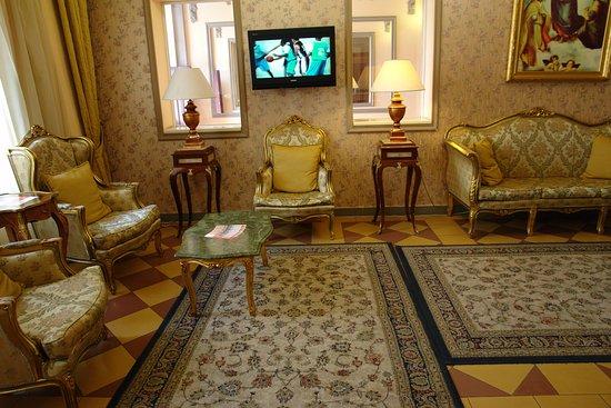 Hotel Raffaello: Reception