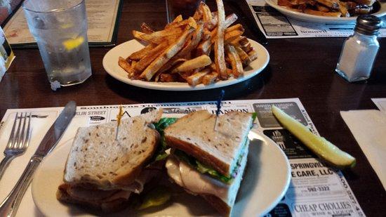 Springville, estado de Nueva York: Turkey on rye