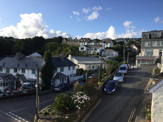 St Mawes, UK: View from the room