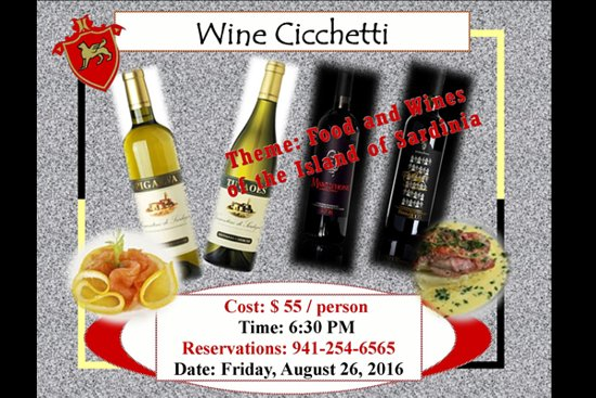 Ristorante San Marco: Treat yourself on August 26th!