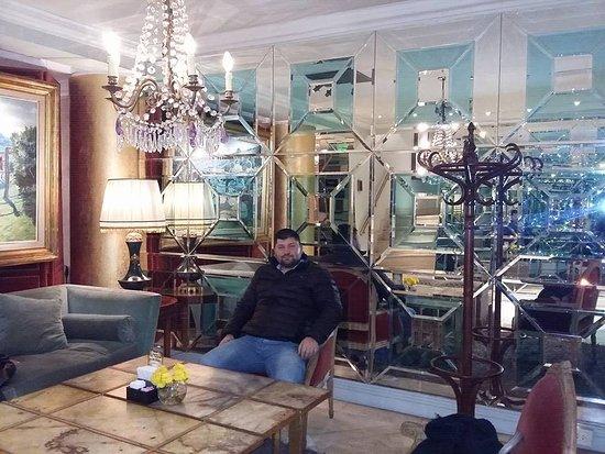 Huentala Hotel: hermoso lobby