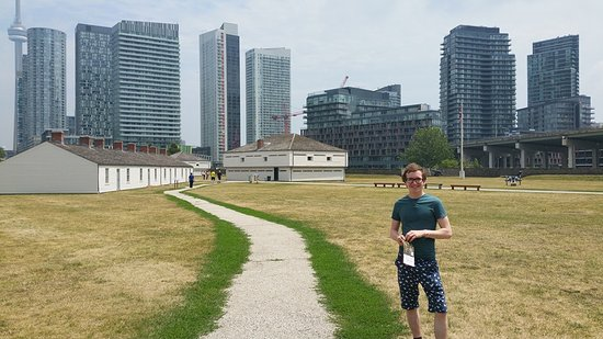 Fort York National Historic Site: Tucked away by the ubiquitous condos