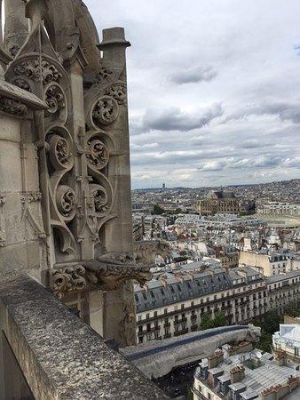 Paris, Prancis: du haut de la Tour St Jacques