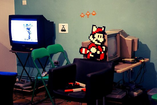 Our Game Room Virtual Reality And Retro Games Picture Of Escape