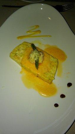 La Cocina de Colacho : Pastel de langostinos y puerros gratinado