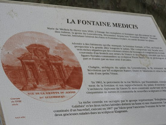 Paris, Prancis: Medici Fountain