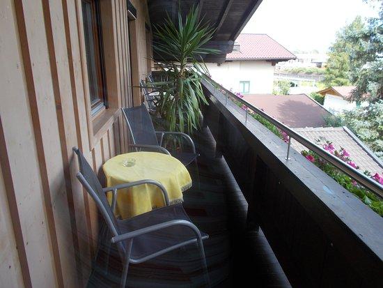Haus Wegscheider : Il terrazzo..