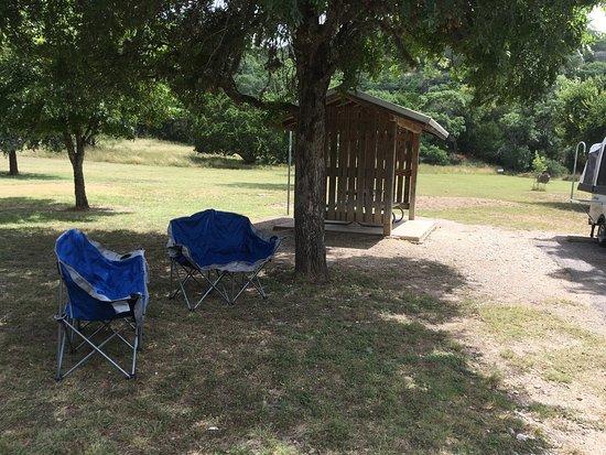 Vanderpool, TX: July trip to Lost Maples! Site 23
