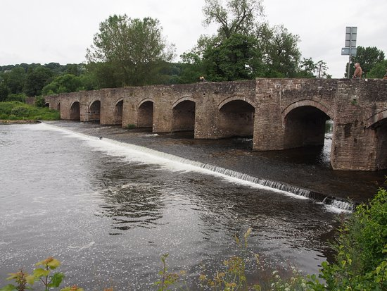 Crickhowell Bridge June 2016
