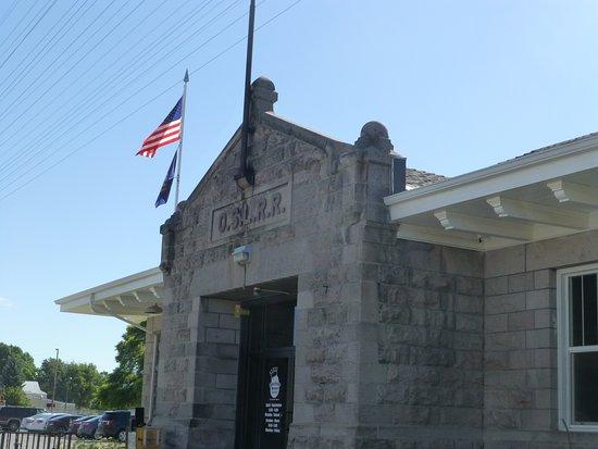 Blackfoot, ID: The entrance to the Idaho Potato Museum.
