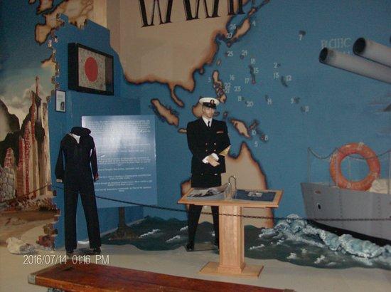 Florence, Oregón: WWII Display