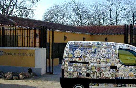 A f brica azulejos de azeit o foto de azulejos de for Fabrica de azulejos