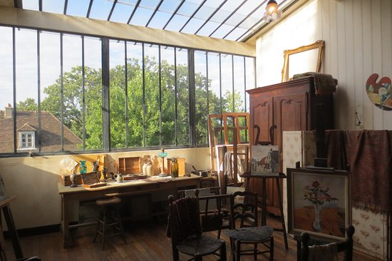 atelier de suzanne valadon photo de mus e de montmartre paris tripadvisor. Black Bedroom Furniture Sets. Home Design Ideas
