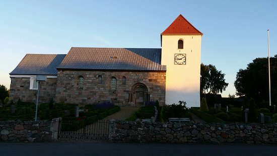Kjellerup, Denmark: Vinderslev Kirke