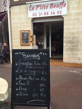 Blonville sur Mer, Francia: La P'tite Bouffe