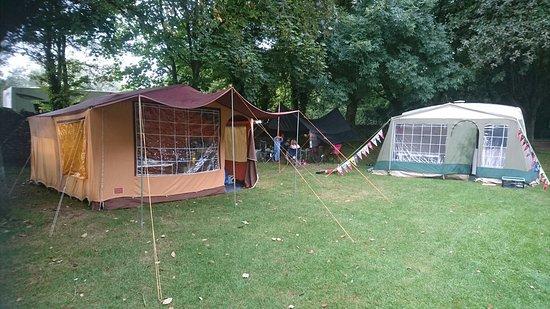 Caravan camp.