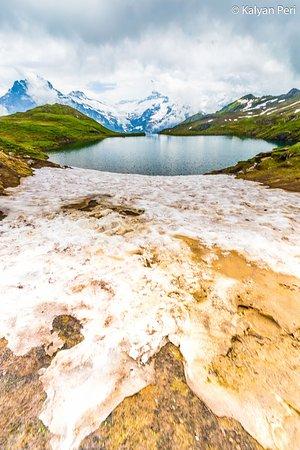 Grindelwald, Switzerland: Beautiful Bachalpsee Lake!