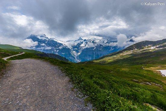 Grindelwald, Switzerland: Lake Bachalpee hiking trail!!!