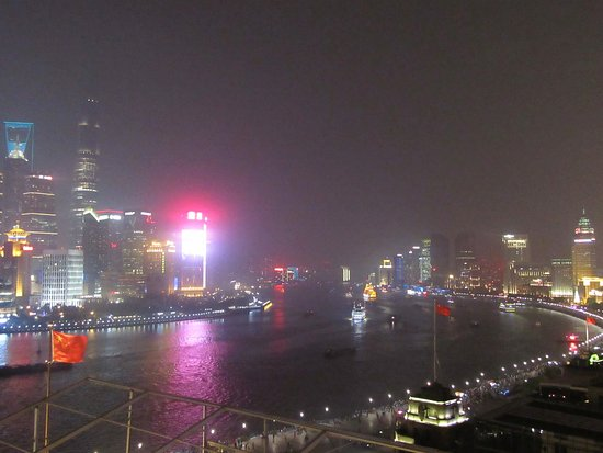 The Peninsula Shanghai: View from Rooftop Bar