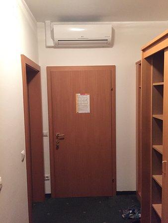 Thermenhotel Kurz: Klimaanlage ohne Fernbedienung