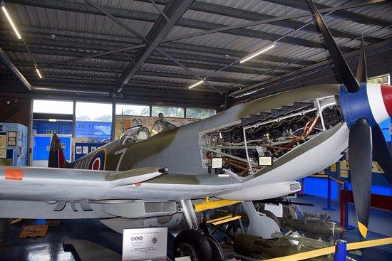 Manston, UK: Spitfire