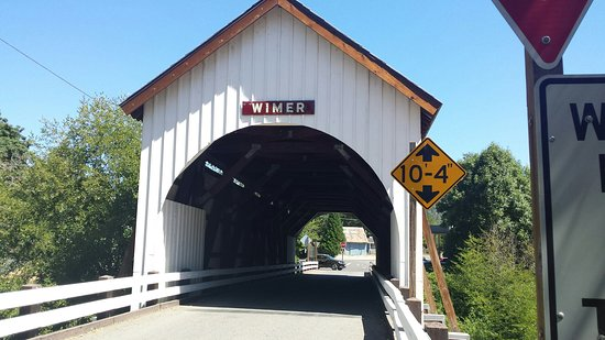 ‪The Wimer Covered Bridge‬