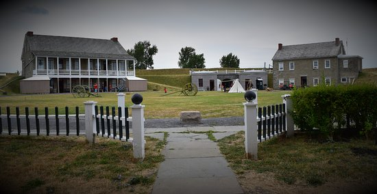 Fort Ontario State Historic Site: Inside