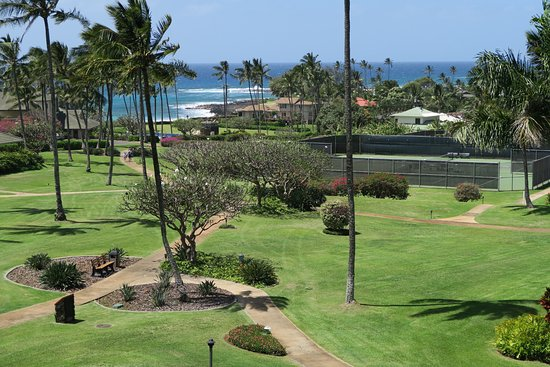 Poipu Kai Resort - Suite Paradise: View from balcony.