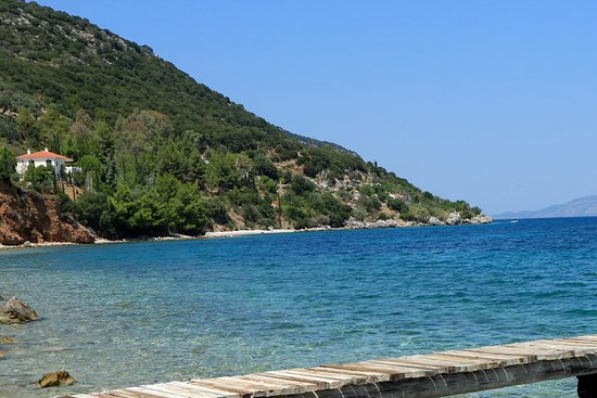 Agios Dimitrios, Greece: La punta estrema